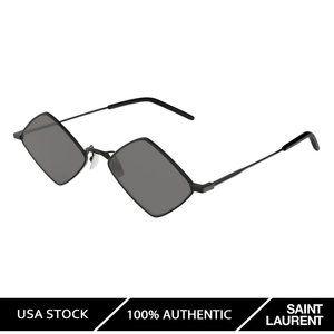 Saint Laurent 302 Lisa Black (002) Sunglasses